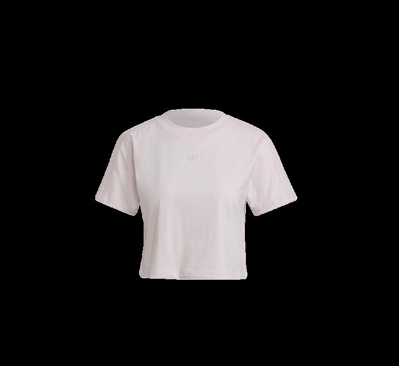 Adidas Women's Cropped T-Shirt Pearl Amethyst