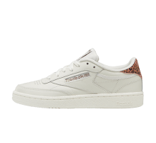 Reebok Women's Club C Cheetah Print Chalk/Rose Gold