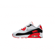 Nike Air Max 90 Ultra 2.0 (ps) White/Wolf Grey-Bright Crimson-Black
