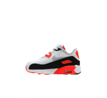 Nike Infant Air Max 90 Ultra 2.0 White/Wolf Grey-Bright Crimson-Black