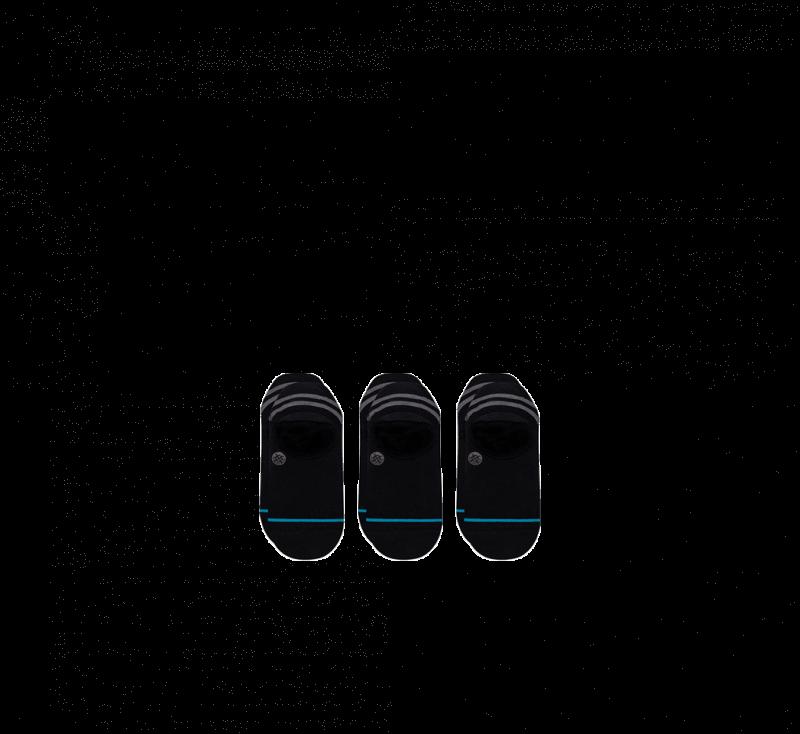Stance Gamut 2 3-Pack Socks Black