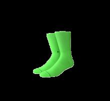 Stance Icon Socks Neon Green