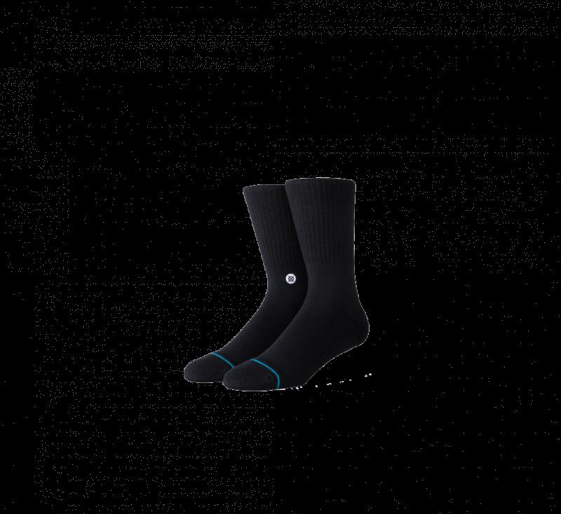 Stance Icon Socks Black/White
