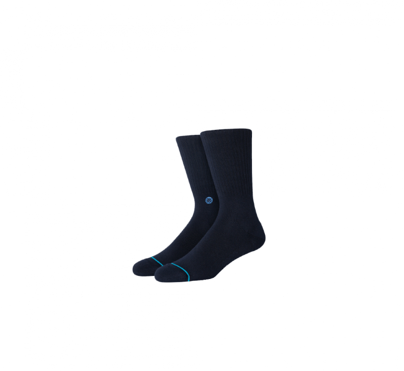 Stance Icon Socks Dark Navy