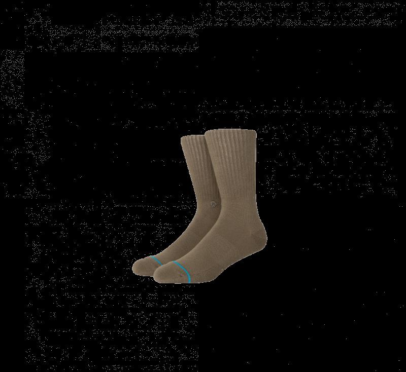 Stance Icon Socks Green
