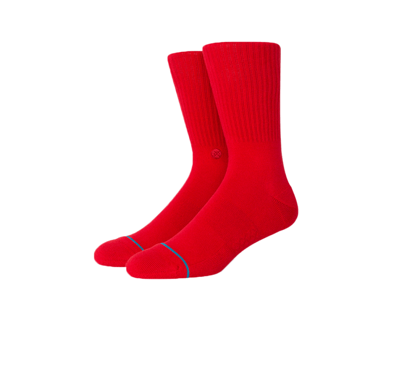 Stance Icon Socks Red