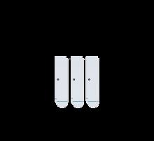 Stance Icon 3-Pack Socks White
