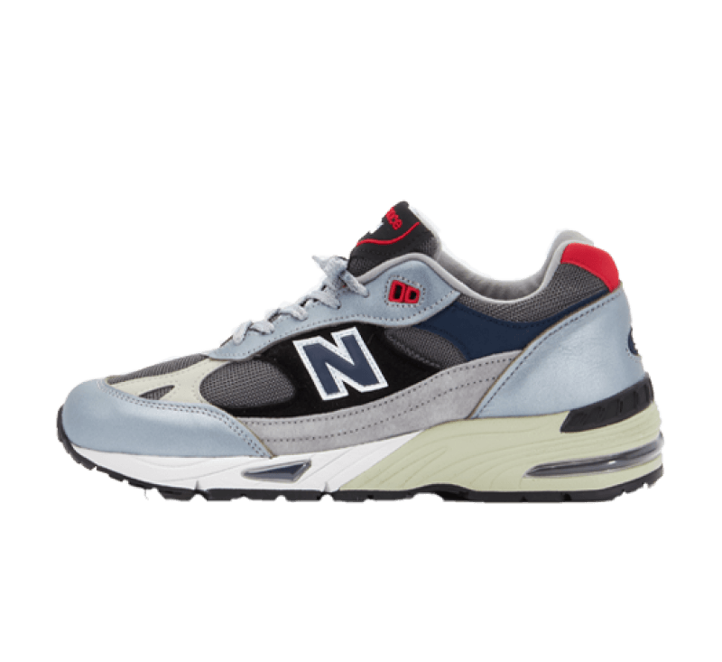 New Balance M991SKR Silver/Black Made in England