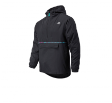 New Balance Terrain Anorack Jacket Black