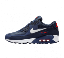 Nike Air Max 90 Essential Midnight Navy/White-University Red