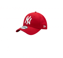 New Era 940 League Basic NY Yankees Scarlet Red/White