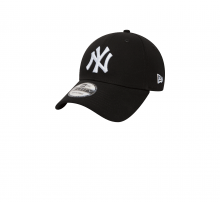 New Era 940 League Basic NY Yankees Black/White
