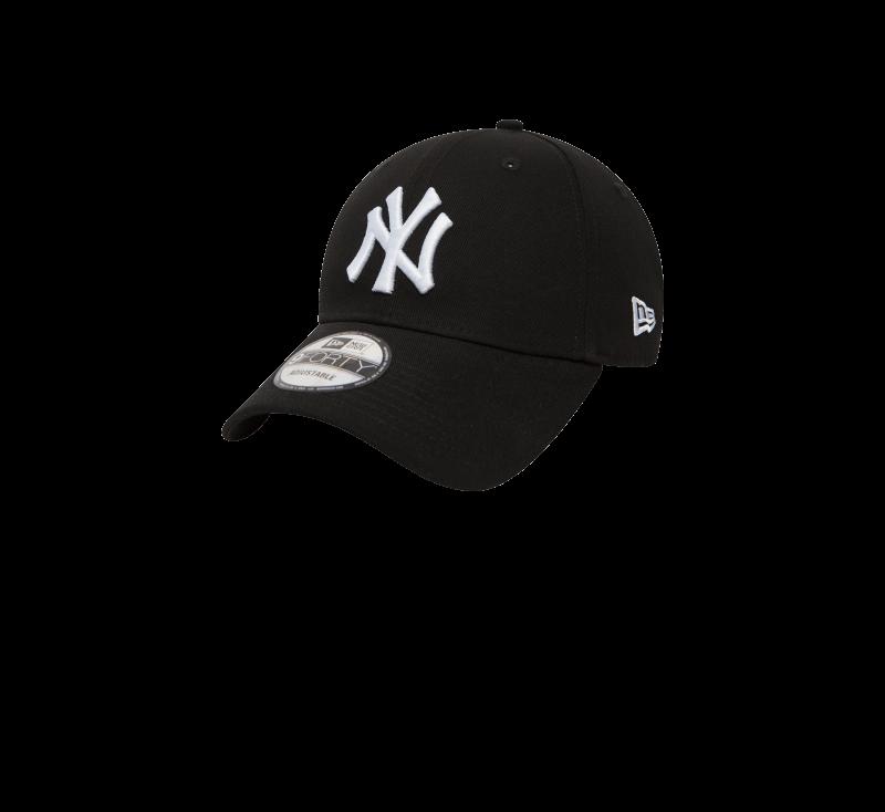 New Era 940 League Basic NY Yankees Black/White