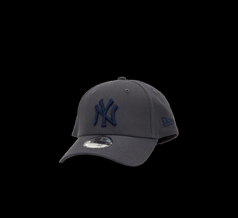 New Era League Essential 940 NY Yankees Grey/Navy