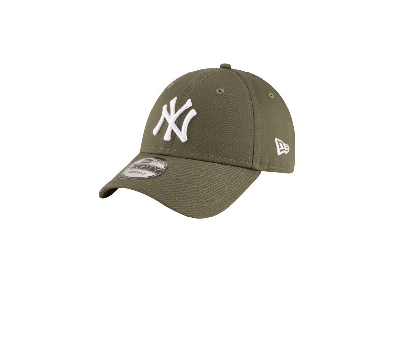 New Era League Essential 9FORTY NY Yankees Olive Green/White