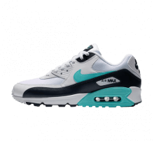 Nike Air Max 90 Essential White/Aurora Green-Obsidian