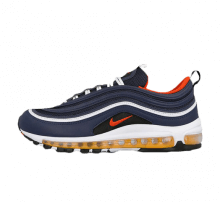 Nike Air Max 97 Midnight Navy/Habanero Red-Black