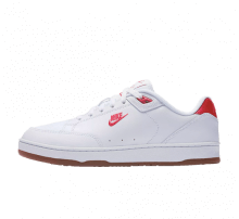 Nike Grandstand II Premium White/University Red-Gum