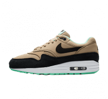 Nike Women's Air Max 1 Desert/Black-Green Glow
