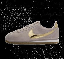 Nike Women's Classic Cortez SE Diffused Taupe/Metallic Gold-Phantom