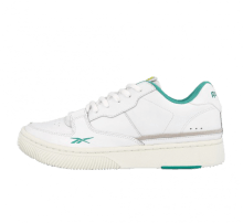 Reebok Dual Court White/Chalk-Emerald
