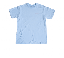 Theforgivenessfoundation SD Script T-Shirt Light Blue/Pink