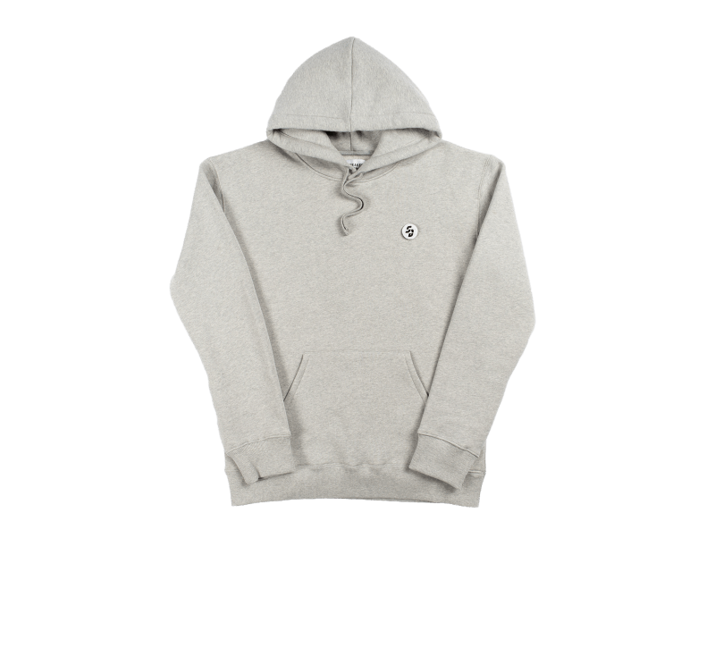 Sneaker District Velcro SD Patch Hoodie Grey
