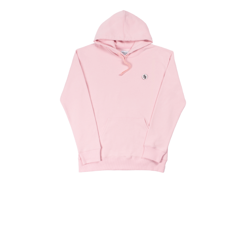 Sneaker District Velcro SD Patch Hoodie Pink