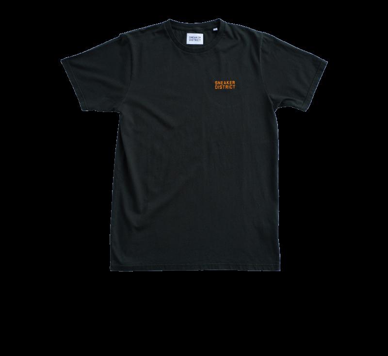 Sneaker District Typo T-Shirt Hunter Green/Orange