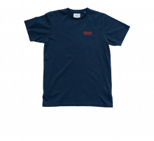 Theforgivenessfoundation Typo T-Shirt Navy/Red