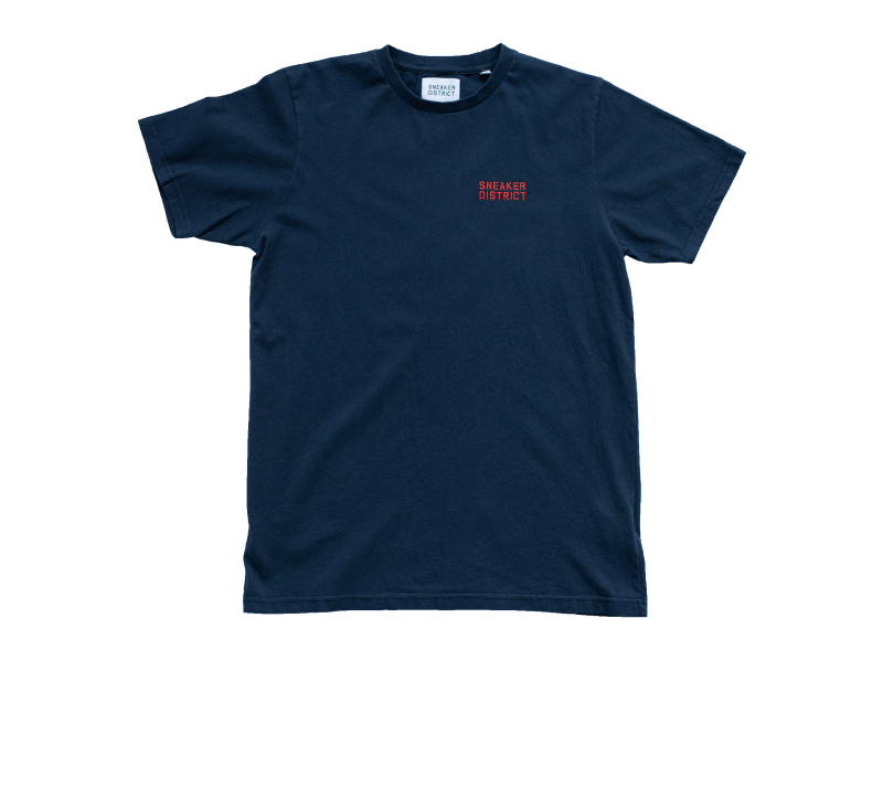 Sneaker District Typo T-Shirt Navy/Red