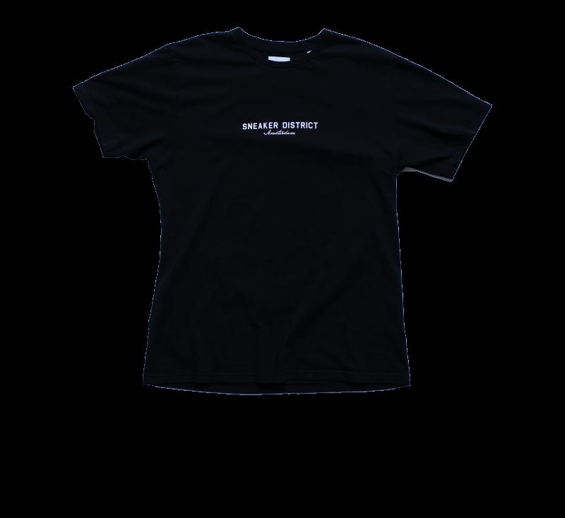 Sneaker District Amsterdam T-Shirt Black
