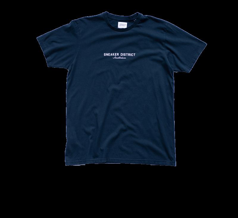 Sneaker District Amsterdam T-Shirt Navy