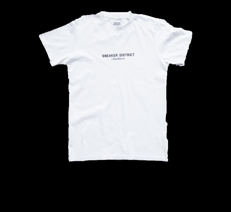 Sneaker District Amsterdam T-Shirt White