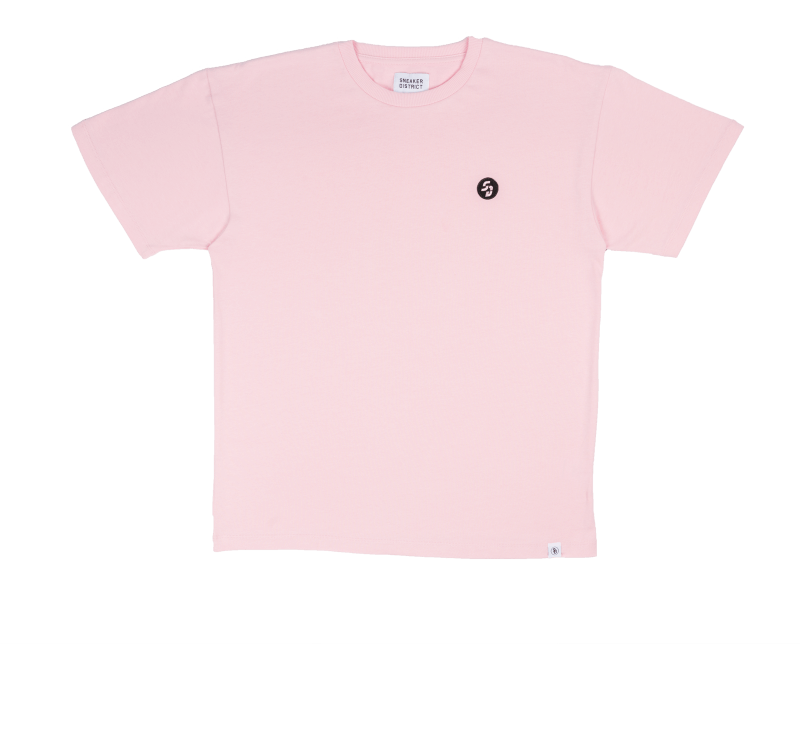 Sneaker District SD Patch T-Shirt Pink