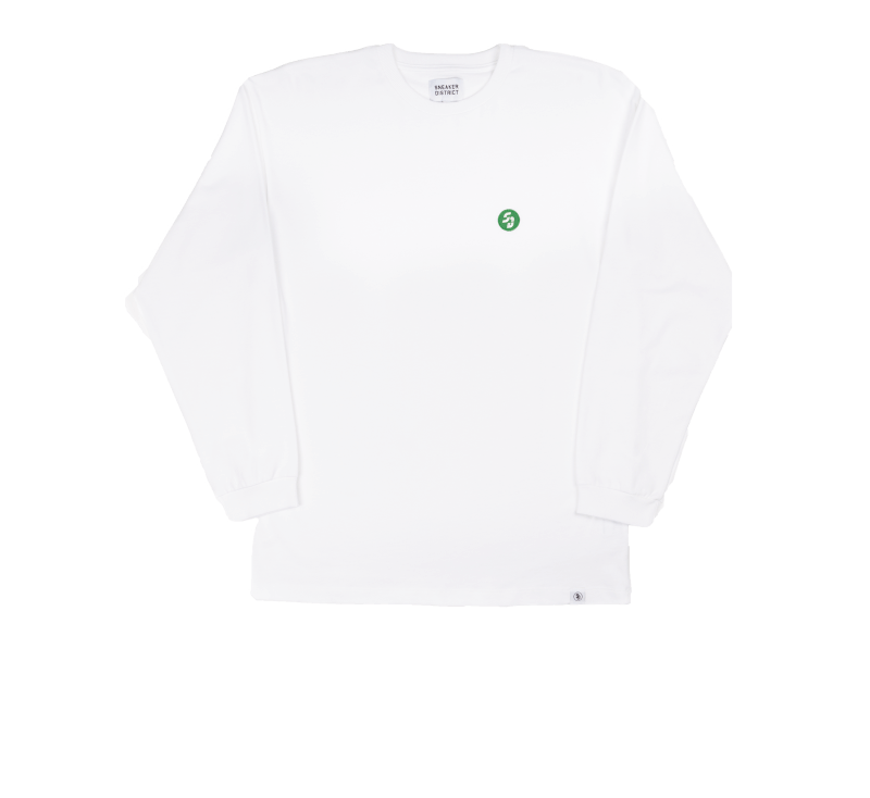 Sneaker District SD Patch Longsleeve White