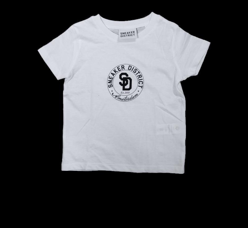 Sneaker District Kids T-Shirt White