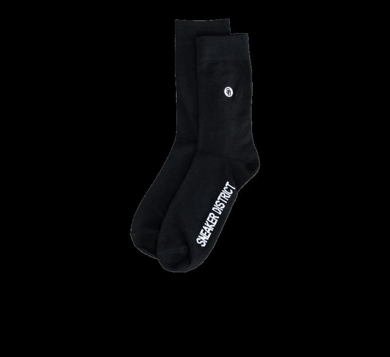 Sneaker District Patch Socks Black/White