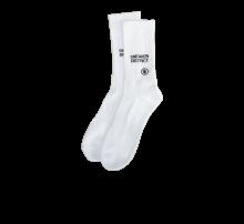 Theforgivenessfoundation Typo Patch Socks White/Black
