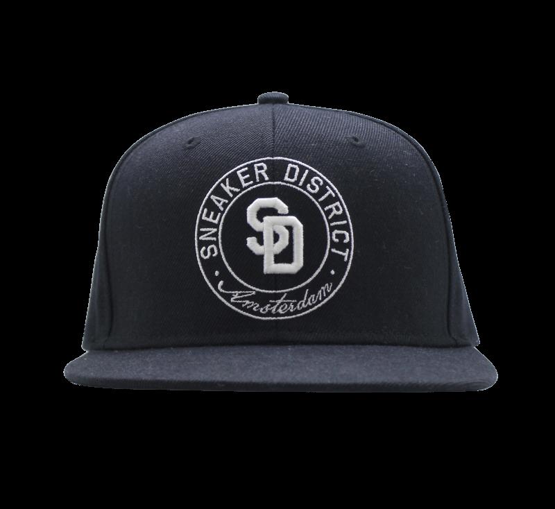 Sneaker District Logo Cap Black-White