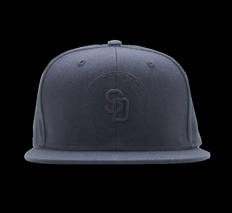 Sneaker District Logo Cap All Black