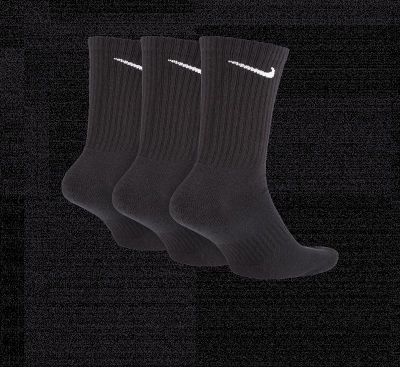 Nike Everyday Cushion Crew Socks Black/White