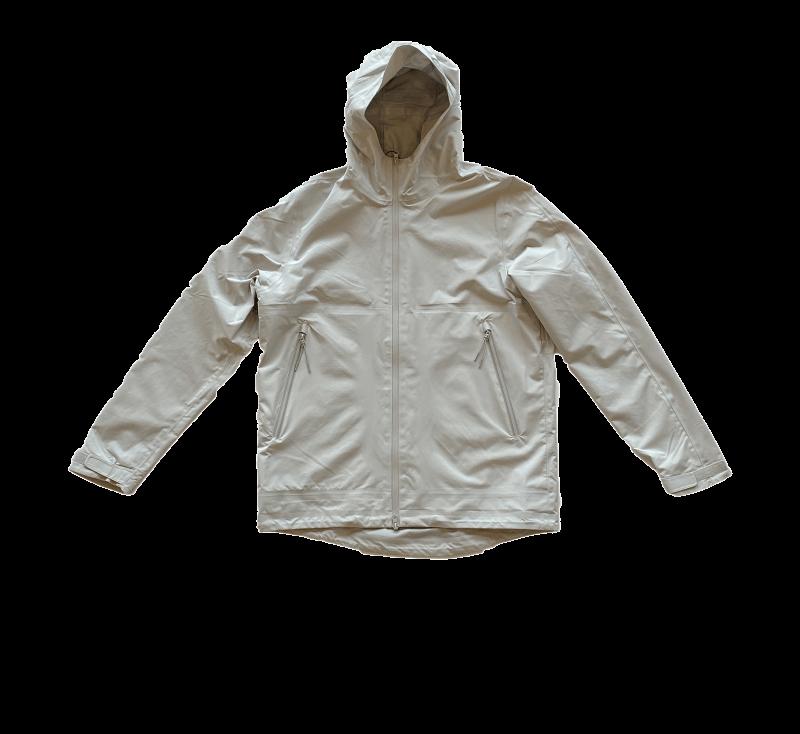 SHU Short Raincoat Light Grey