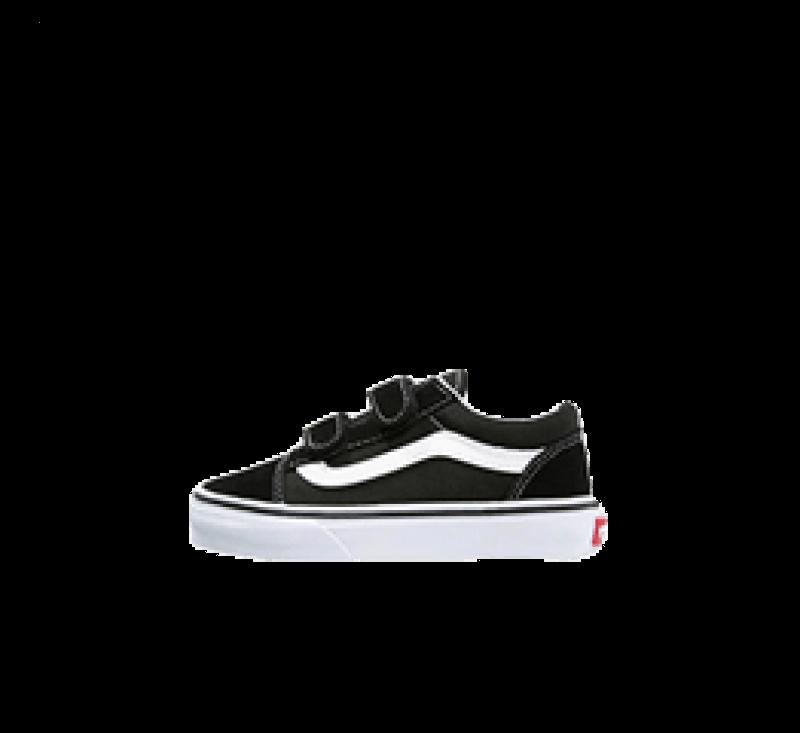 Vans Old Skool V Kids Black/True White