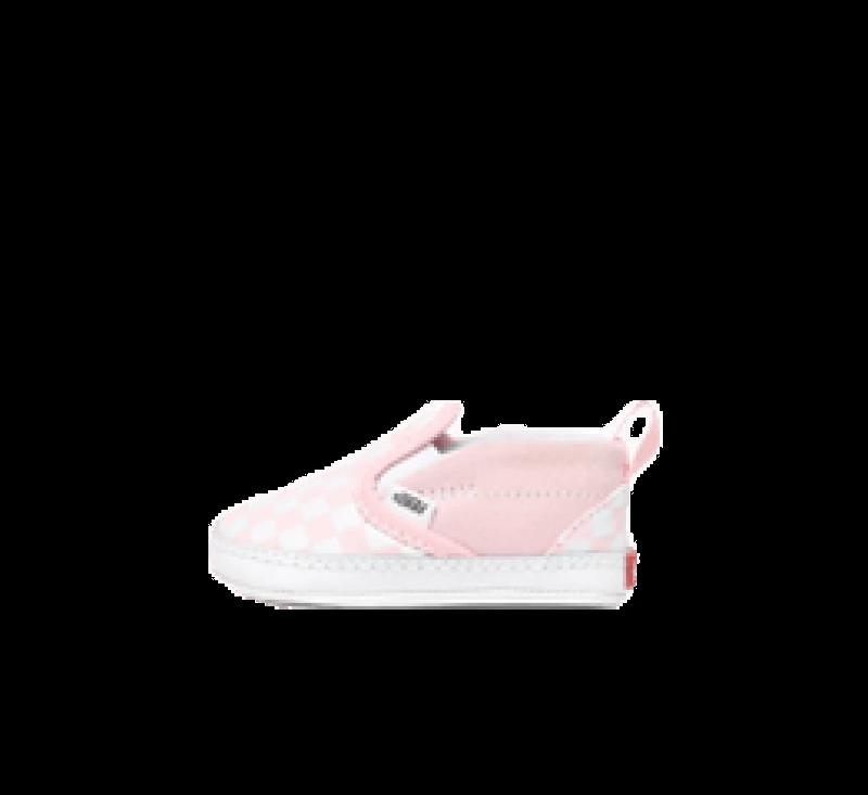 Vans Slip-On V Crib Checkerboard Blushing Bride/True White