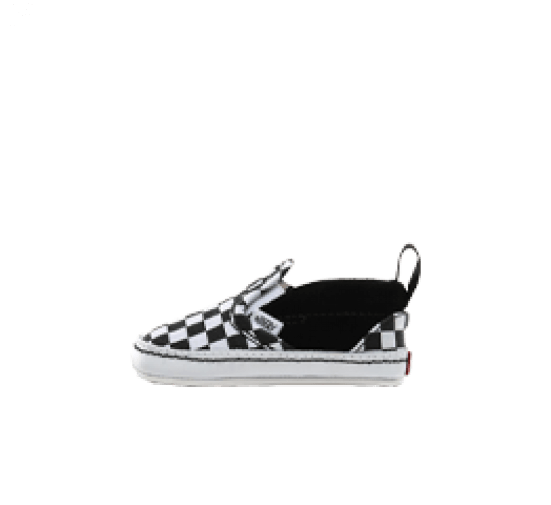 Vans Slip-On V Crib Checker Black/True White