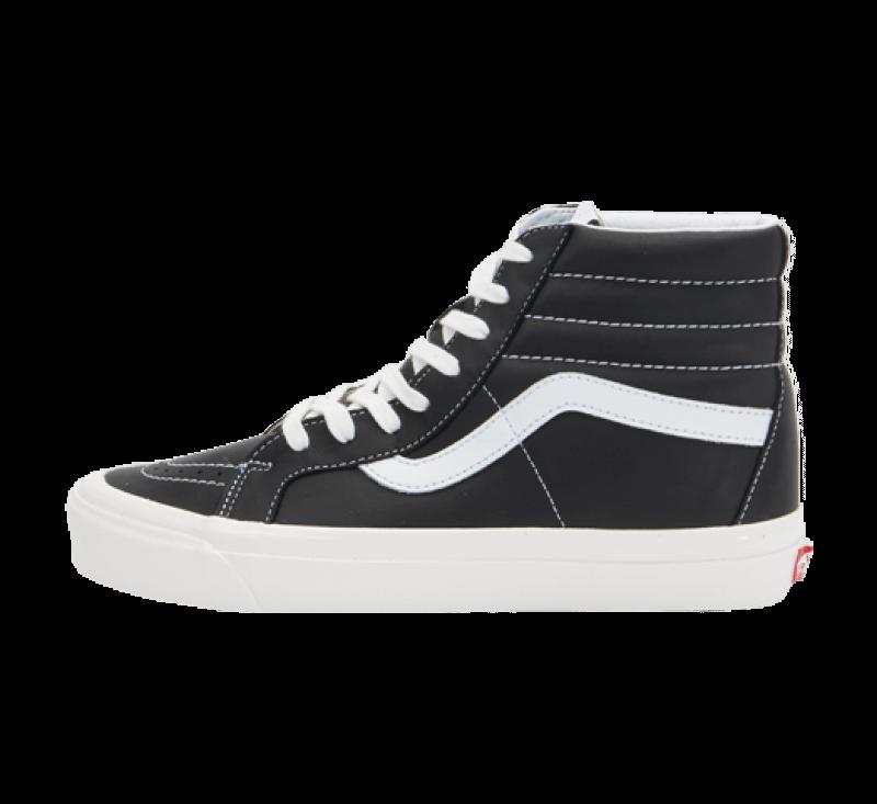 Vans Sk8-Hi 38 DX Anaheim Factory Black/Leather