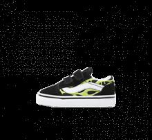 Vans Old Skool V Slime Flame Black/True White