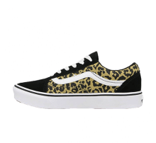 Vans Old Skool Comfycush Leopard Black/True White