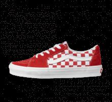 Vans Sk8-Low Checkerboard Red/True White